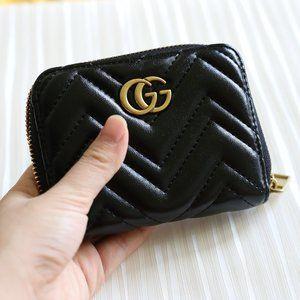 Handmade Gucci Marmont Zip Around Wallet